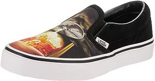Vans Boy's Classic Slip on Alien Attack Skate Shoes
