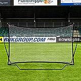 RapidFire Flash Red de Rebote 'Pop-Up' para Entrenamientos de Fútbol – Red Reboteadora 2,4m x 1,5m