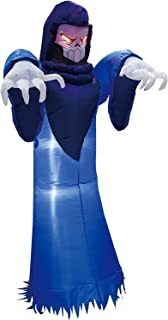 Best Joiedomi Halloween 8 FT Inflatable Spooky Warlock with Build-in LEDs Blow Up Inflatables for Halloween Party Indoor, Outdoor, Yard, Garden, Lawn Decorations Review