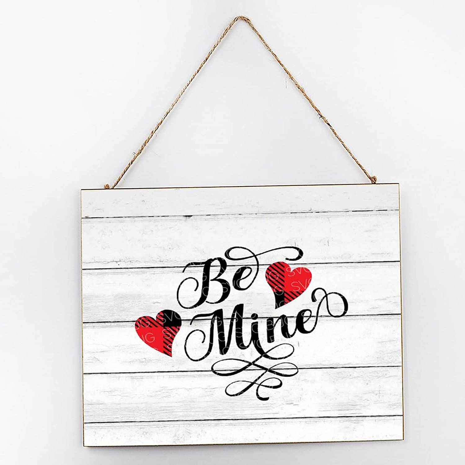 by Unbranded 12x10 Wooden Mail order Sign,Be Valentine's Mine Day Nurse overseas