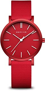BERING Unisex Analogue Quartz Watch with Silicone Strap 16934-599