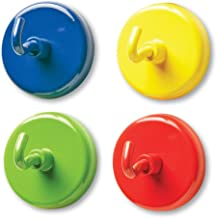 Learning Resources Super Strong Magnetic Hooks, Set of 4, Assorted Colors, 1