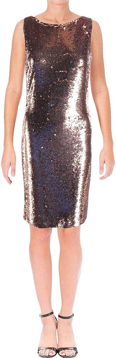 BB Ultra-Cheap Deals Dakota Garland Women's Sequined Mini Sleeveless 2021 autumn and winter new Dress Si Pink