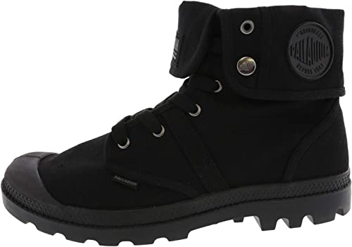 PALLADIUM Pampa hi leather Men/'s shoe BLACK Ankle winter boots Father/'s day sale