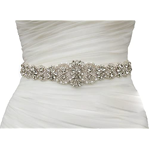 2c08df5f70ef SoarDream Bridal Sash, Wedding Belt, Bridal Dress Belt