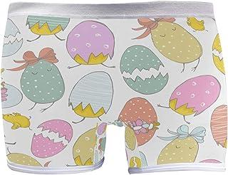 Womens Hipster Panties Underwear Cute Hand Drawn Chicks Eggs Ladies Soft Boxer Briefs Panty