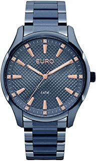67aeea43d0d Relógio Feminino Euro Analógico Euy121E6Dh 4A Azul