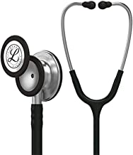 3M Health Care MMM 5620 Littmann Classic III Monitoring Stethoscope, Black Tubing, 27