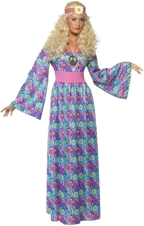 Horror-Shop Flower Power Hippie Maxi Kostüm XL B00U6VQA6Q Hohe Qualität und geringer Aufwand   | Optimaler Preis