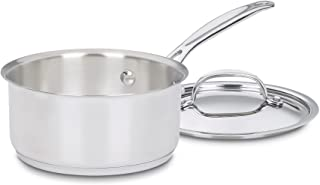 Cuisinart 719-14 Chef's Classic Stainless 1-Quart Saucepan with Cover,Silver