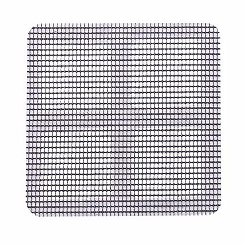 ROSEBEAR 30 piezas de reparación de ventanas de puerta, malla de alambre de malla de plástico de 100 x 100 mm para evitar insectos de control de malla