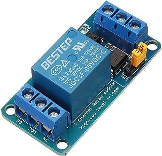 ILS – 10 Unidades 1 Canal 5 V módulo relé High and Low Trigger Level para Arduino