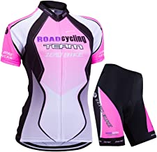 ZEROBIKE Women's Short Sleeve Cycling Jersey Jacket Cycling Shirt Quick Dry Breathable Mountain Clothing Bike Top