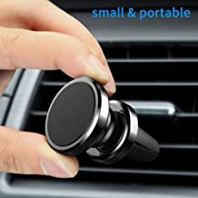 Magnetic Phone Car Mount, MANORDS Universal Air Vent Cell Phone Holder 360°Rotation GPS Mount Compatible iPhone Xs Max Xs X 8 Plus 7 6s SE Samsung Galaxy S9 S8 Edge Note 9 More (Black)