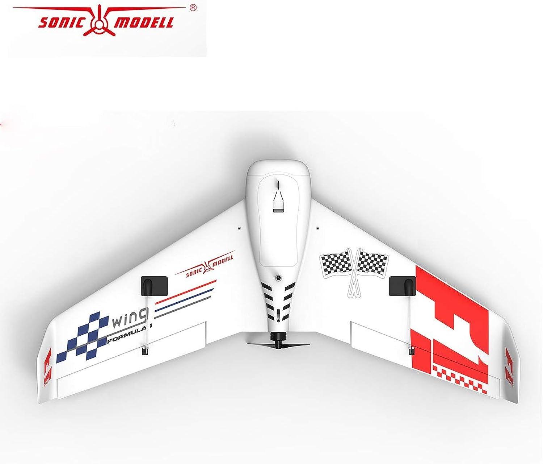 los últimos modelos Dailyinshop ZOHD SonicModell F1 833mm Envergadura EPP FPV RC Avión Avión Avión Planeador de ala Fija Aviones no tripulados Modelo de avión con 190 kmh Kit DE Alta Velocidad Versión  saludable
