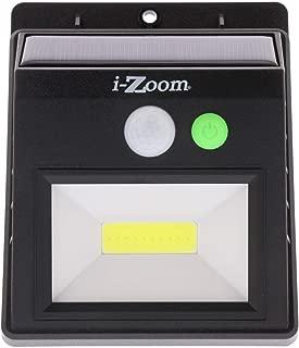 iZOOM Motion Activated Solar Recharging Indoor Outdoor Bright Light