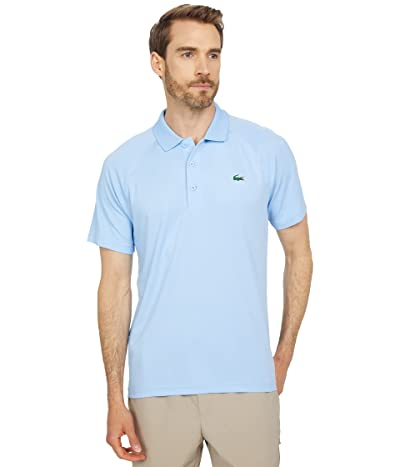 Lacoste Short Sleeve Sport Breathable Run-Resistant Interlock Polo Shirt