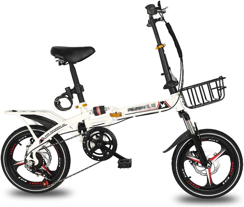 directo de fábrica Bicicletas Triciclos Plegable Masculina Y Femenina Recreo Al Al Al Aire Libre Montar para Estudiantes Frenos De Disco De Cambio De 16 20 Pulgadas para Hombres Y Mujeres  precio mas barato