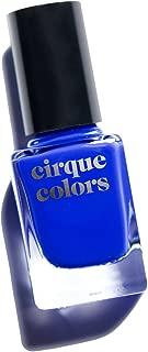 Cirque Colors Crème Nail Polish - NYFW (New York Fashion Week) - Ultramarine Cobalt Blue - 0.37 fl. oz. (11 ml) - Vegan, Cruelty-Free, Non-Toxic Formula