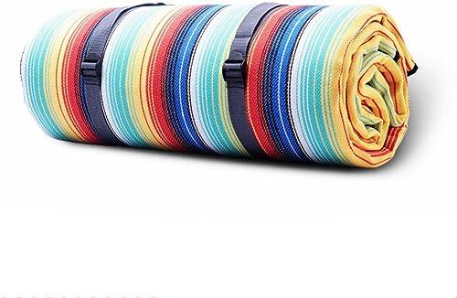GUJJ Piscine Style Anglais Classique Tapis de Pique-Nique, Humide Mat, Mat, Mat de Tente de Camping, épaissir, pelouse imperméable Tissu Pique-Nique