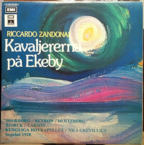 NILS GREVILLIUS ZANDONAI KAVALJERERNA PA EKEBY vinyl record