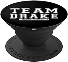Team DRAKE Family Surname Reunion Crew Member Gift PopSockets Grip and Stand for Phones and Tablets