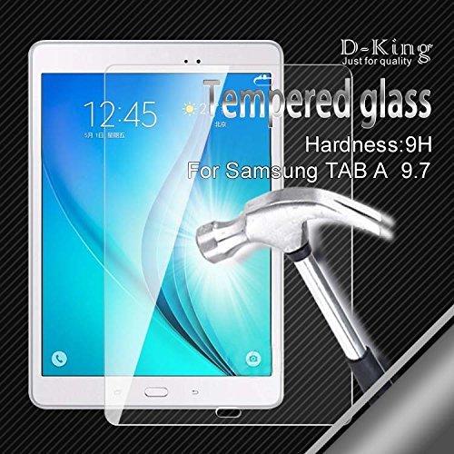 Hartglas Hart Glas Echt Glas 9H Schutzfolie für Samsung Galaxy Tab A 9.7 Zoll Display T550 T550N T555