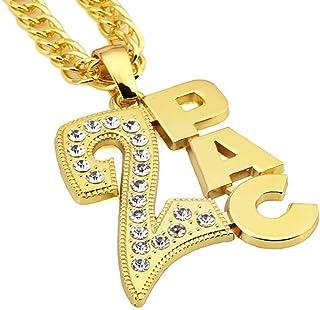 Costume Finto Oro Grosso Collana Catena Con Simbolo Del Dollaro Hip Ho Rapper Gangster