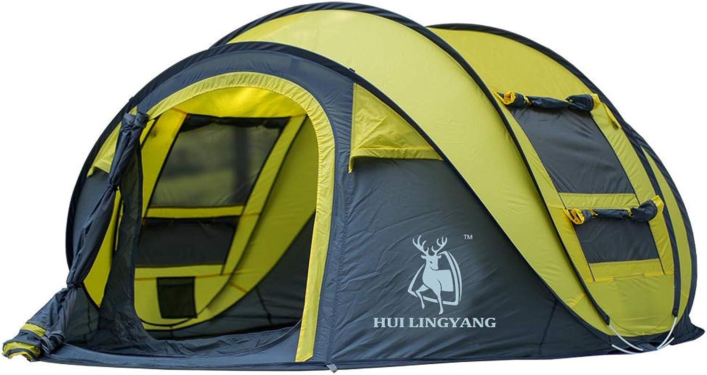 DDDD store Camping Outdoor-Pop-up-Zelt Outdoor-Pop-up-Zelt Outdoor-Pop-up-Zelt für Wasserdichte, schnell zu öffnende Zelte 4-Personen-Kabinenhaube mit Tragetasche Einfache Einrichtung, DREI Farben B07P25QZN2  Förderung 185865