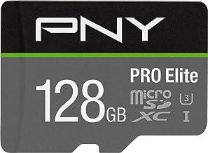 PNY 128GB PRO Elite Class 10 U3 microSDXC Flash Memory Card
