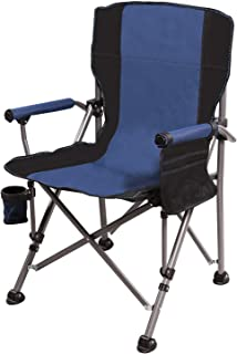 REDCAMP Folding Camping Chairs for Adults Heavy Duty, Sturdy Reclining Camp Chair for Picnic Hunting Fishing Beach, Support 600lbs Capacity