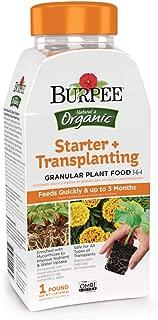 Burpee Organic Starter + Transplating Granular Plant Food, 1 lb