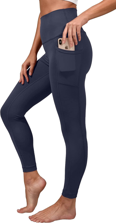 Yogalicious Lux High Waist Elastic Free Side Pocket Ankle Legging