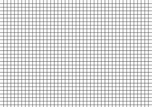 Brunnen 102250200 Karteikarte (A5 kariert, 100 Stück, eingeschweißt) weiß