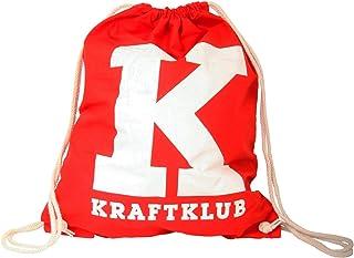 Kraftklub Turnbeutel Gymbag Tasche K rot