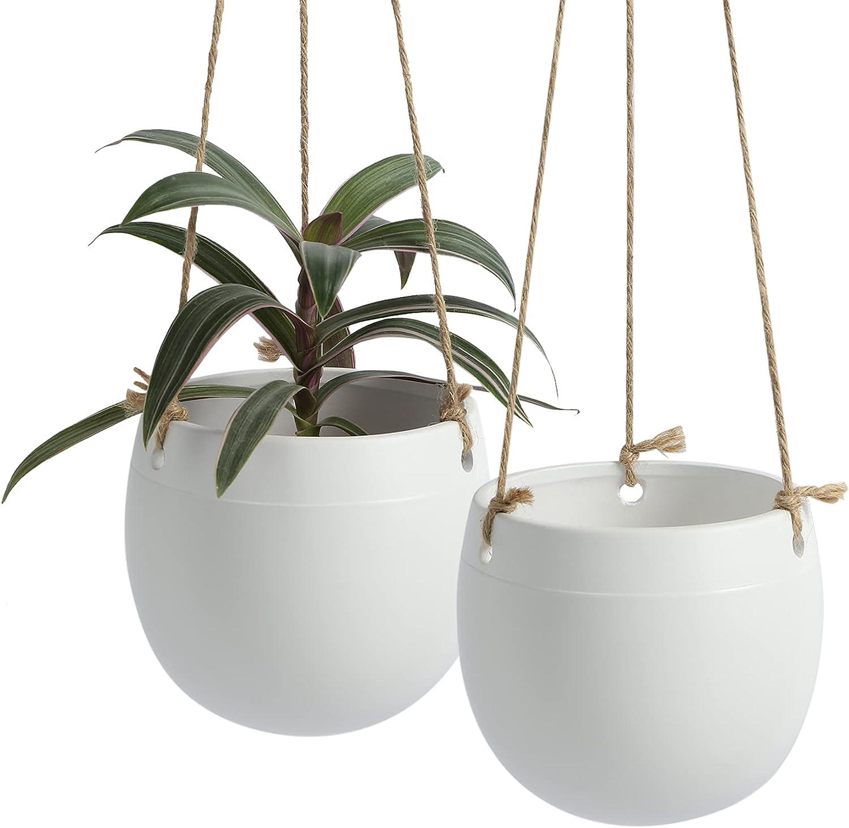 Outlet SALE Ceramic Hanging Planters Plant Pots - shop POTEY Indo Inch 5.3 056801