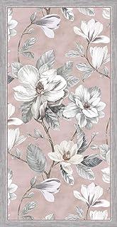Vilber Magnolia DU 04 40X78 Alfombra, Vinilo, Rosa, 40 x 78 x 0.22 cm