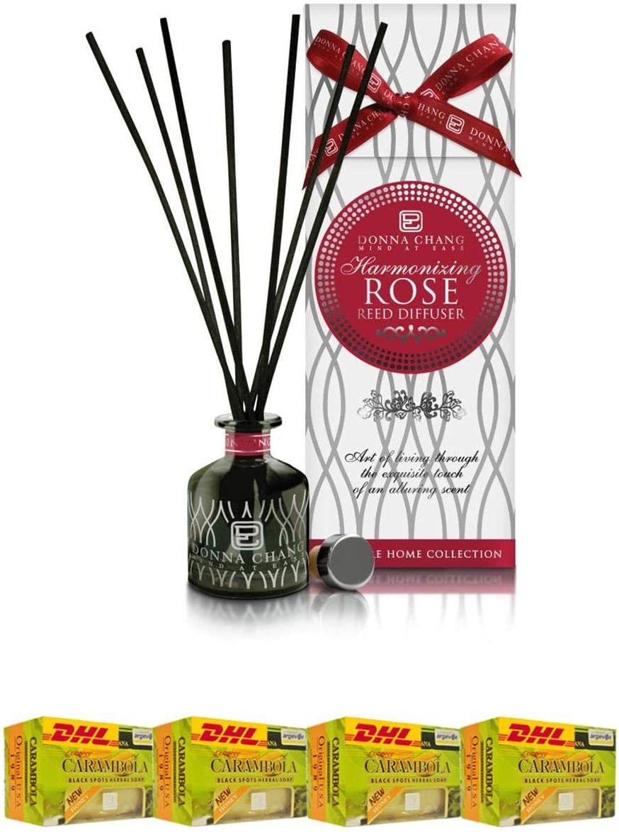 Donna Finally resale start Chang Extra Set Spa Organic Reed Diffuser 50Ml Bombing free shipping Fragra Rose