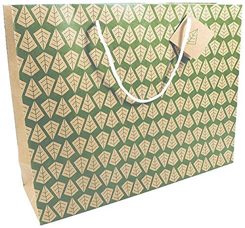 Clairefontaine 223790C Geschenktüte (Alma, 35 x 10 x 27,5 cm, Kraftpapier 180g, einfach zum transportieren, 2 Tragegriffen) 1 Stück