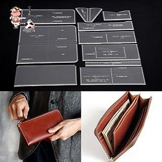 JD 長財布 アクリル型紙 レザークラフト用品 (長財布1)