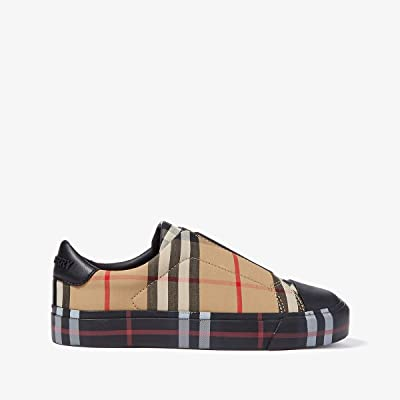 Burberry Kids Mini Markham (Toddler/Little Kid) (Black/Archive Beige) Kid