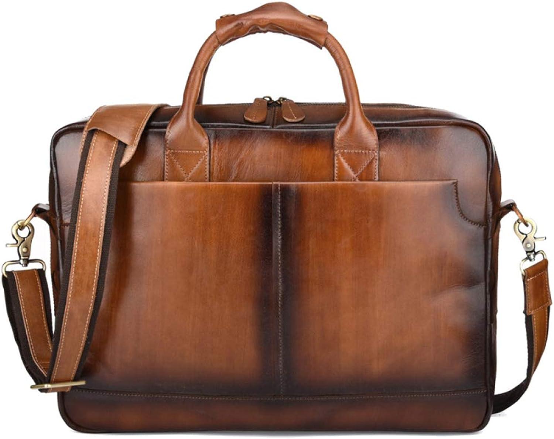 YSAN Herren Leder Schultertasche Vintage Business Handtasche Business Bag B07JK3CT8Z B07JK3CT8Z B07JK3CT8Z 2f5745