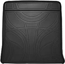 SMARTLINER All Weather Custom Fit Cargo Trunk Liner Floor Mat Black for 2010-2017 Chevrolet Equinox/GMC Terrain