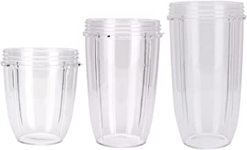 Sduck Replacement Parts for Nutribullet, 18oz 24oz 32oz cup For Magic bullet Nutribullet 600w & Pro 900, 3 pcs/pack