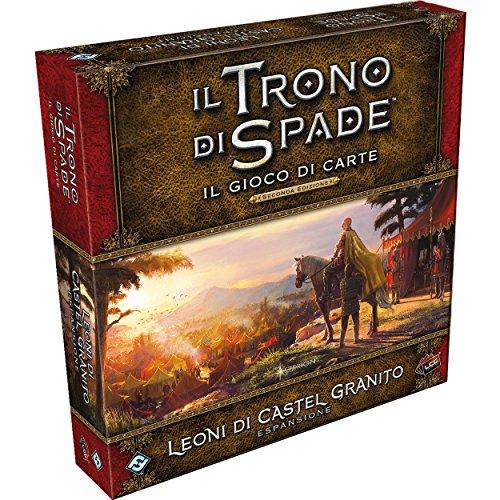 Asmodee Italy 9215 - El Juego de Tronos Lcg - Leones de Granito Castel