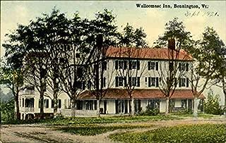 Walloomsac Inn Bennington, Vermont Original Vintage Postcard