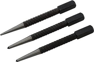 cu/ñas y cu/ñas de plumas piedra Chiloskit herramienta de mano para hormig/ón 14 mm Cu/ña de enchufe y plumas separador de piedra 2 unidades