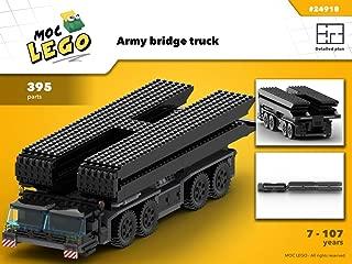 Army bridge truck (Instruction Only): MOC LEGO
