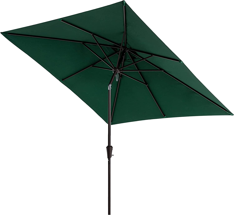 SERWALL Max 42% OFF 7.5x7.5ft Arlington Mall Square Patio Umbrella Market Outdoor