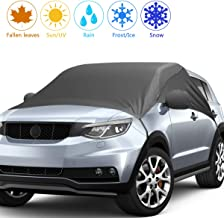 2019 Upgrade Version Car Windshield Snow Cover, Snow Ice Frost UV Cover for Car Front and Side Windshield & Rearview Mirror, Waterproof Car Snow Cover, Extra Large Size Fits Most Cars and SUV